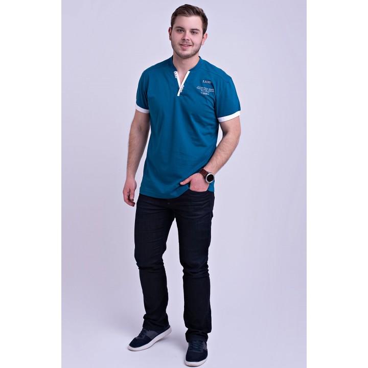 Мужская футболка Систен (бирюза)