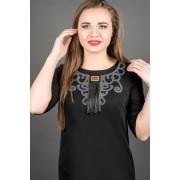 Платье Кураж (черный)