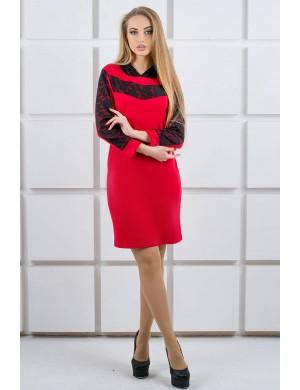 Платье Камита (красный)