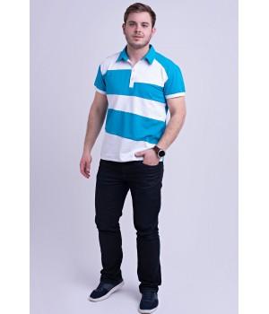 Мужская футболка Зидан (бирюза)