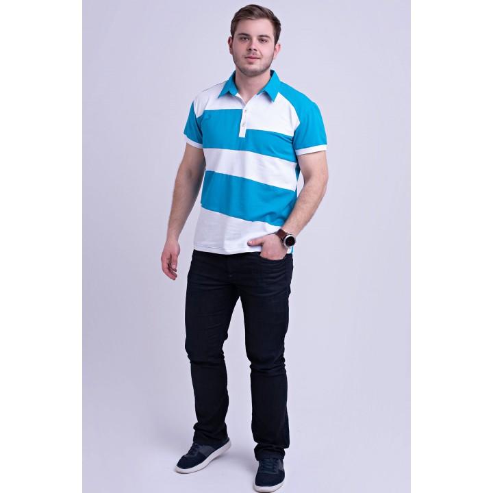 Мужская футболка Зидан (бирюза) оптовая цена