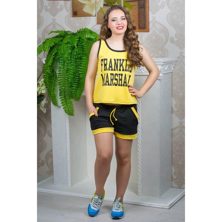 Спортивный костюм Эстель (желтый)    оптовая цена