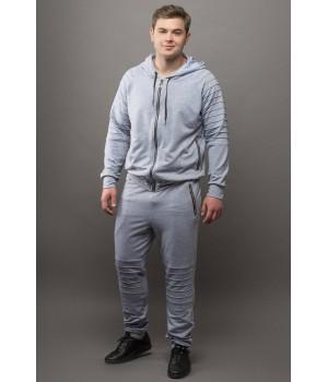 Мужской спортивный костюм Тимм (серый)