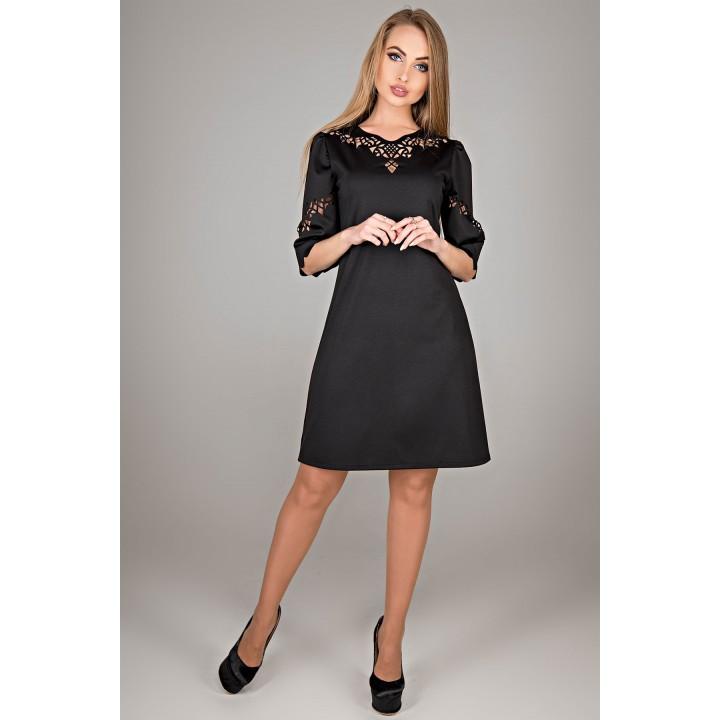 Платье Диколь (черный)