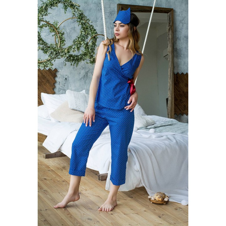 Пижама Аланна (электрик) оптовая цена