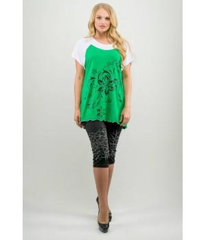 Туника Шармель (зеленый)