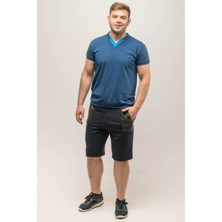 Мужские шорты Блэк (синий) Оптовая Цена