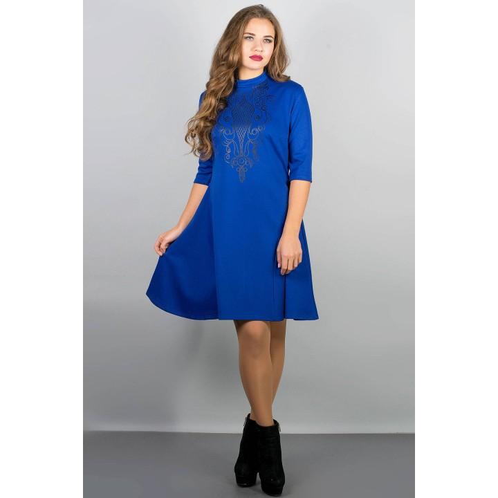 Платье Француаза (электрик) Оптовая цена