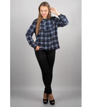 Рубашка Марчелло (синя-жёлтая)