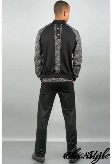 Мужской спортивный костюм Риччи ( черный) Оптовая Цена
