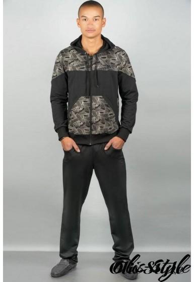 Мужской спортивный костюм Тодори (бежевый) Оптовая Цена