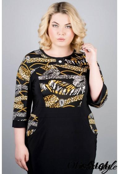 Платье Мирра (леопард)   оптовая цена