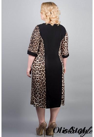 Платье Веста (леопард)   оптовая цена