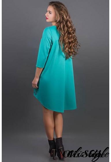 Платье Гретти (бирюза) Оптовая цена