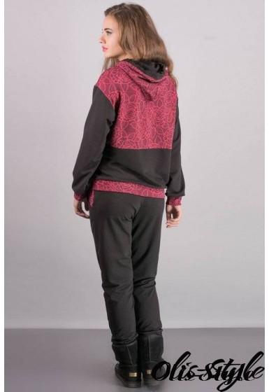 Спортивный костюм Фишен (бордовый) Оптовая цена