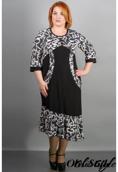 Платье Флорида (серый) Оптовая цена