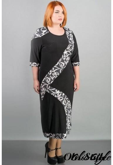 Платье Илиада (серый) Оптовая цена