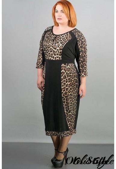 Платье Клоди (леопард) Оптовая цена