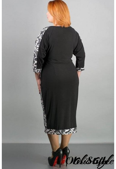 Платье Клоди (серый) Оптовая цена