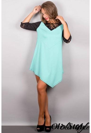 Платье Эсмина (мятный) Оптовая цена