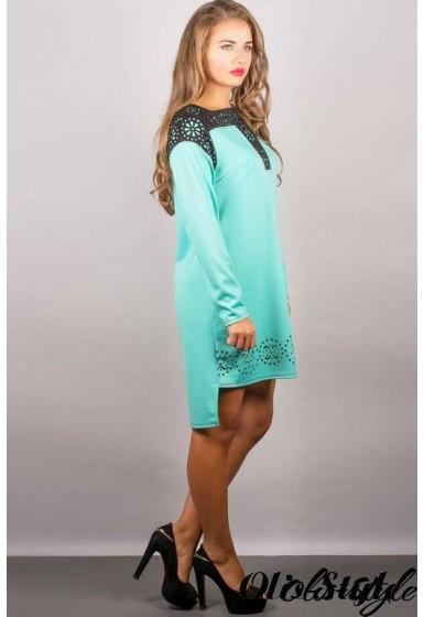 Платье Этилия (мятный) Оптовая цена