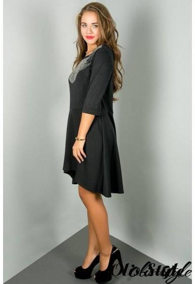 Платье Марсэлла (черный) Оптовая цена