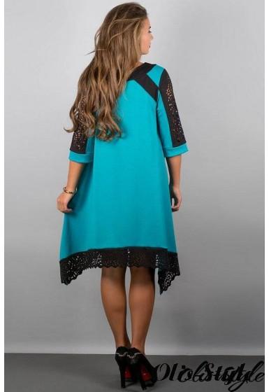 Платье Вайти (бирюза) Оптовая цена
