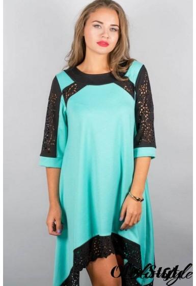 Платье Вайти (мятный) Оптовая цена