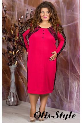 Платье Галатея (коралловый с гипюром)   оптовая цена
