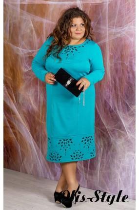 Платье Иветта (бирюза)    оптовая цена
