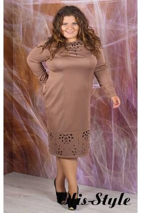 Платье Иветта (кофейный)    оптовая цена