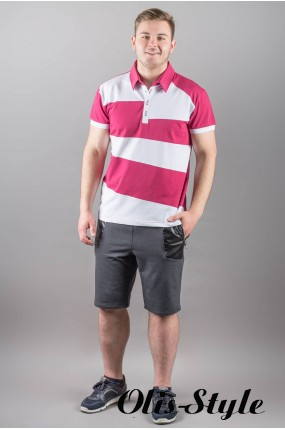 Мужская футболка Зидан (бордовый) оптовая цена