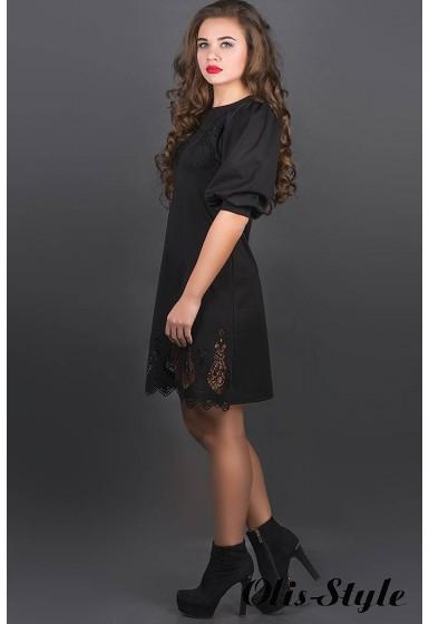 Платье Айсель (черный) Оптовая цена