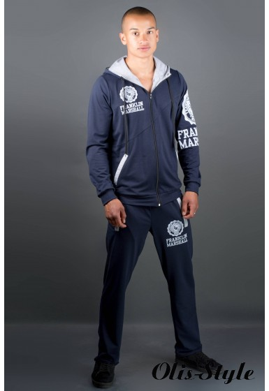 Мужской спортивный костюм Шалди (синий) Оптовая Цена