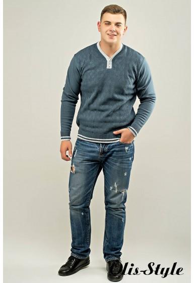 Мужской свитер Гомер (синий) оптовая цена