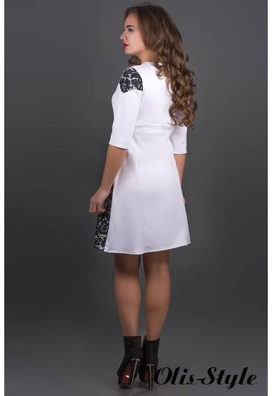 Платье Оника (белый) Оптовая цена