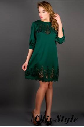 Платье Айсель (зеленый) Оптовая цена