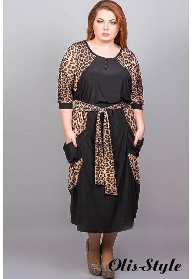 Платье Соната (леопард)  Оптовая Цена