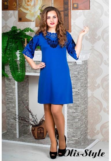 Платье Юлия (электрик)  оптовая цена