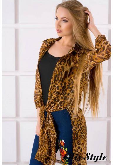 Рубашка Капитоль (леопард) оптовая цена