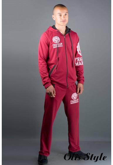 Мужской спортивный костюм Шалди (бордовый) Оптовая Цена