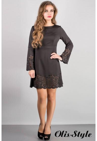 Платье Мальдива (черный) Оптовая цена