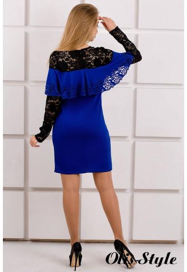 Платье Элис (электрик) Оптовая цена