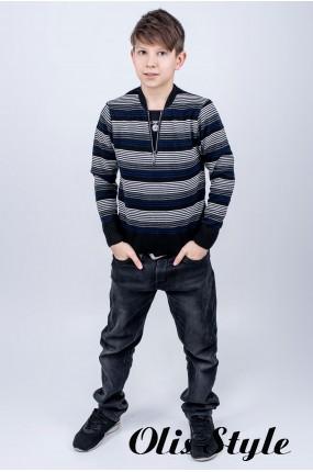 Детский свитер Брайтон (черный)