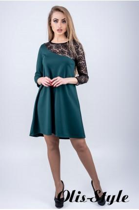 Платье Сакура (зеленый) Оптовая цена