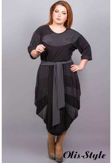 Платье Лия (горошек)  Оптовая Цена