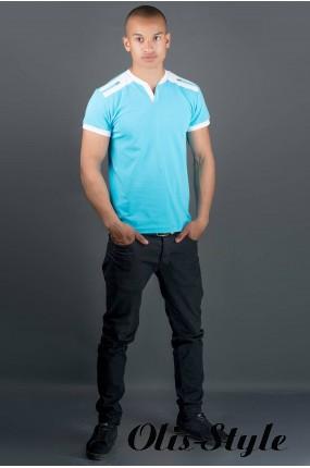 Мужская футболка Рональдо (голубой) оптовая цена
