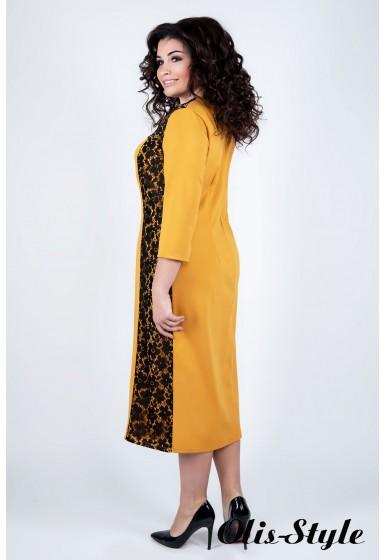 Платье Мелани (горчичный)