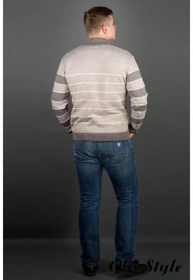 Мужской свитер Сэнс (бежевый) оптовая цена