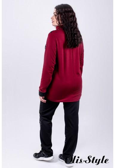 Спортивный костюм Алания (бордовый) оптовая цена